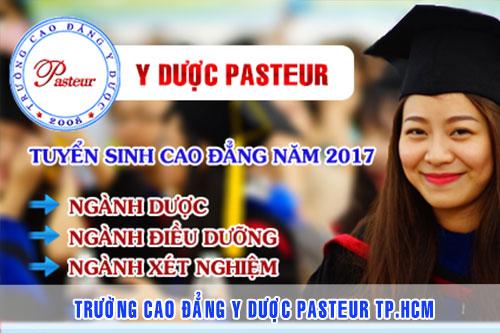 Thông tin tuyển sinh Trường Cao đẳng Y Dược Pasteur năm 2017