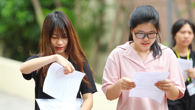 Nghệ An: Đã xuất hiện điểm 9,5 môn thi Ngữ Văn