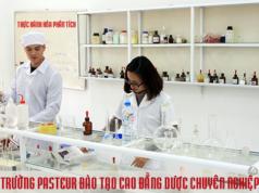 Trường Cao đẳng Y Dược Pasteur đào tạo Cao đẳng Dược chuyên nghiệp