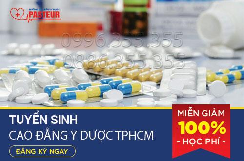 Trường Cao đẳng Y Dược Pasteur TPHCM miễn 100% học phí