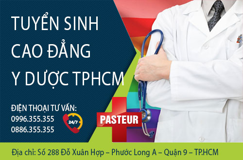 Trường Cao đẳng Y Dược TPHCM thông báo tuyển sinh Cao đẳng Y Dược