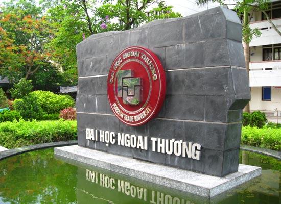 Trường Đại học Ngoại thương công bố danh sách thí sinh trúng tuyển