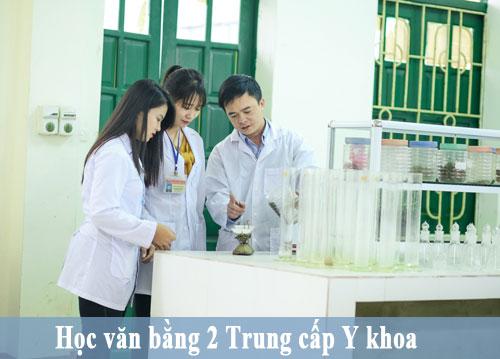 Học Văn bằng 2 Trung cấp Y Khoa TPHCM