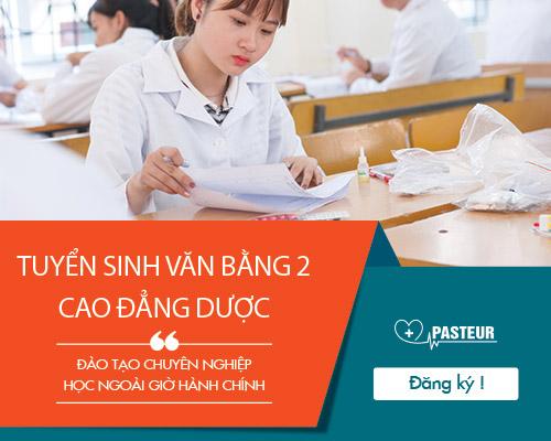 Trường Cao đẳng Y Dược Pasteur tuyển sinh Văn bằng 2 Cao đẳng Điều dưỡng
