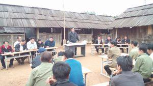 Một buổi họp của các thầy giáo