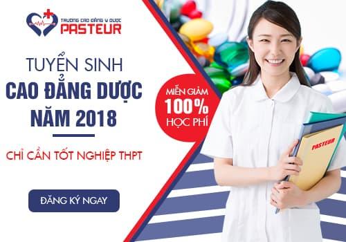tuyen sinh cao dang duoc nam 2018