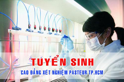 Cao đẳng Xét nghiệm Pasteur TPHCM năm 2017