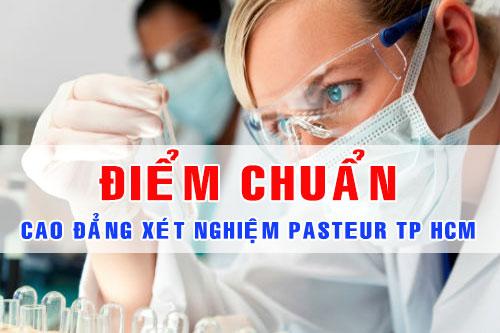 Điểm chuẩn Cao đẳng Xét Nghiệm TPHCM năm 2017