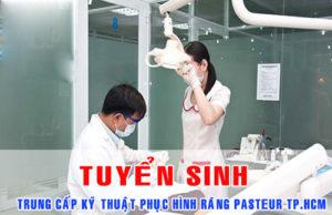 Tuyển sinh Trung cấp kỹ thuật Phục hình răng TPHCM