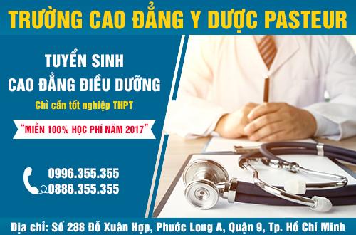 Tuyen-sinh-cao-dang-dieu-duong-tphcm-mien-100%-hoc-phi-nam-2017