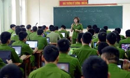 Học viện Hậu Cậu xét tuyển cả hệ sĩ quan và dân sự