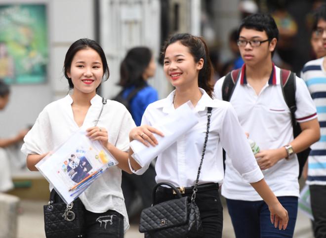 Danh sách các trường đại học cứ đăng ký xét tuyển là chắc chắn đỗ