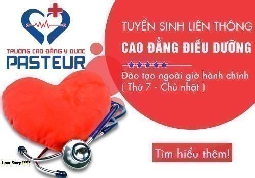 Liên thông Cao đẳng Điều dưỡng TPHCM học thứ 7 Chủ nhật năm 2018
