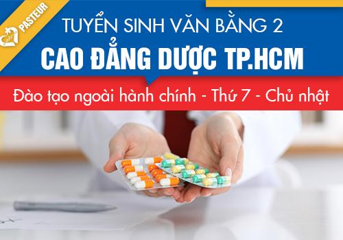 Tuyển sinh văn bằng 2 Cao đẳng Dược TPHCM