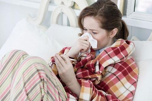 Bệnh cảm lạnh thường gặp mùa đông
