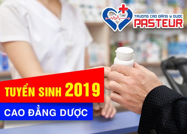 Tuyến sinh Cao đẳng Dược TPHCM năm 2019
