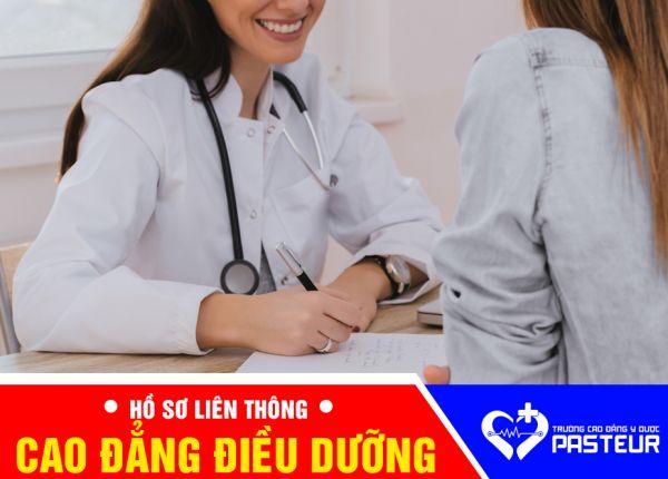 Hồ sơ liên thông Cao đẳng Điều dưỡng năm 2019