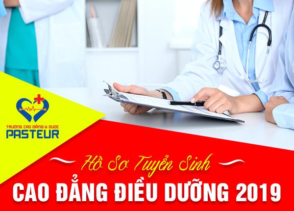 Hồ sơ tuyển sinh Cao đẳng Điều dưỡng năm 2019