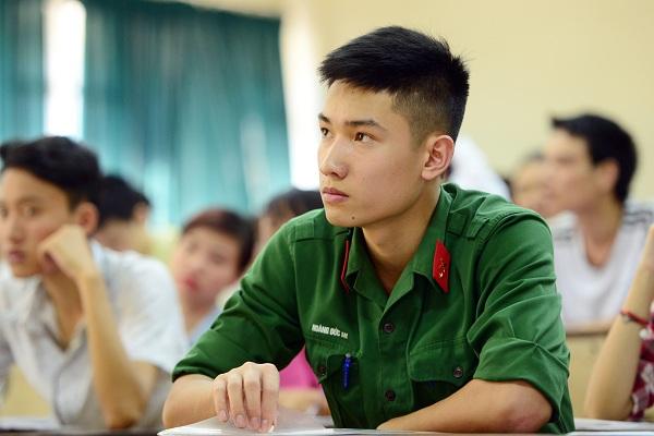 Các trường quân đội năm 2019 xét tuyển những tổ hợp môn nào?