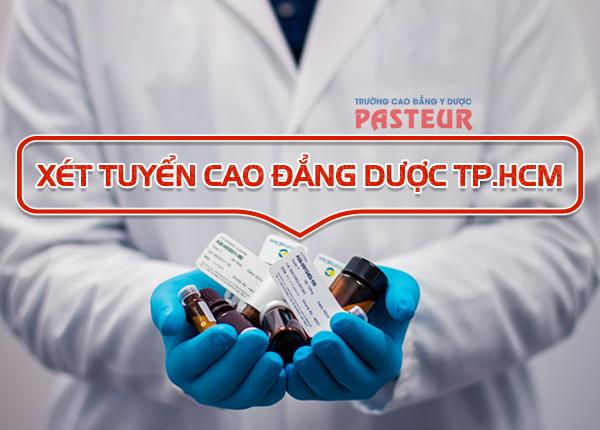 Cao đẳng Dược Pasteur TPHCM năm 2019 có xét học bạ THPT không?
