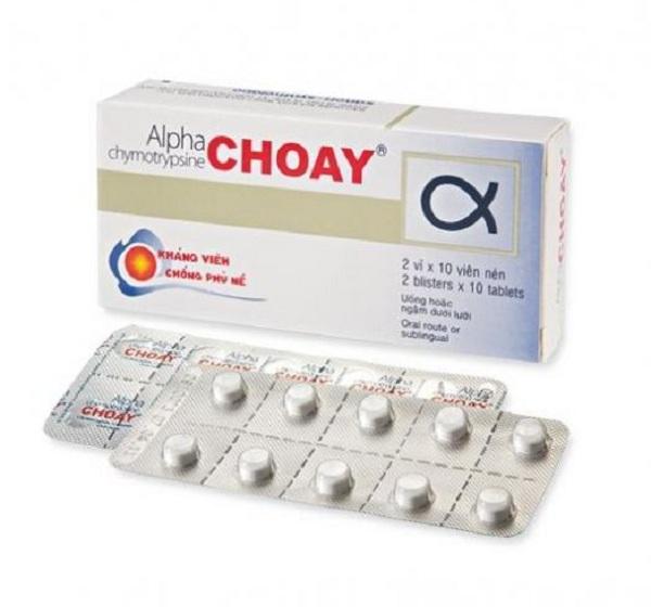 Thuốc Alpha Choay là thuốc gì và cách sử dụng như thế nào?