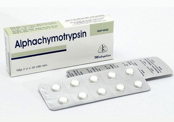 Thuốc Alphachymotrypsin có thể sử dụng theo đường uống hoặc ngậm dưới lưỡi