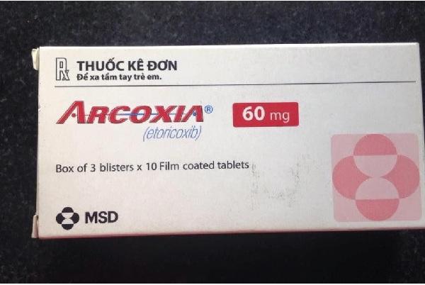 Thuốc Arcoxia 60mg: Công dụng, liều dùng và tác dụng phụ thế nào?